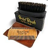 Bartbürste und Bartkamm im Set I 100%...