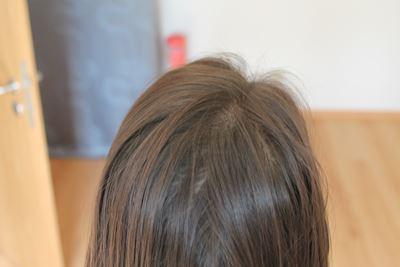 Haar vor dem Bürsten